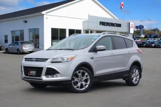 Used 2015 Ford Escape Titanium AWD | HEATED LEATHER | NAV | BACK UP CAM | SUNROOF for sale in Fredericton, NB