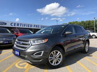 Used 2016 Ford Edge SEL BLUETOOTH|NAVIGATION|TOW PACKAGE|CRUISE for sale in Barrie, ON