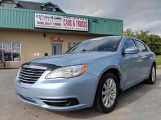 Used 2013 Chrysler 200 LX CERTIFIED!!!!!! for sale in Bolton, ON