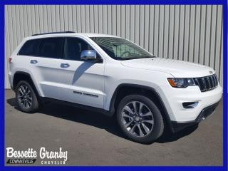 Used 2018 Jeep Grand Cherokee Limited +Navigation, Roues 20 PO+ for sale in Cowansville, QC