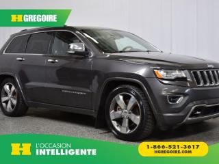 Used 2015 Jeep Grand Cherokee Overland for sale in St-Léonard, QC
