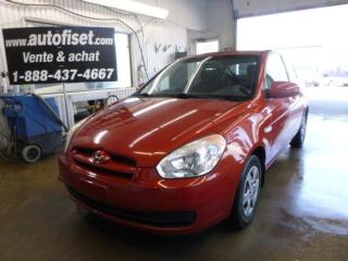 Used 2008 Hyundai Accent L for sale in St-raymond, QC