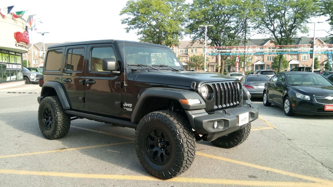 """Jeep Wrangler For Sale Ontario >> Used 2018 Jeep Wrangler SPORT UNLIMITED JL 2.5"""" LIFT BIG WHEELS &35' TIRES for Sale in Toronto ..."""