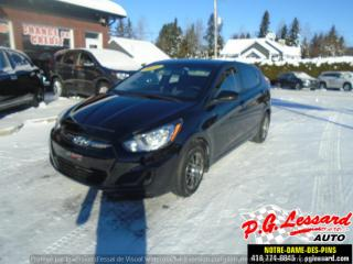Used 2014 Hyundai Accent Hayon for sale in St-Prosper, QC