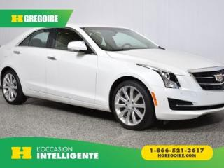 Used 2015 Cadillac ATS Luxury AWD for sale in St-Léonard, QC