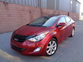 Used 2012 Hyundai Elantra LIMITED - NAVI - CAMERA - LEATHER - SUNROOF for sale in Toronto, ON