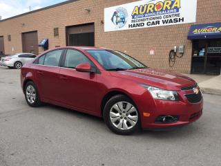 Used 2014 Chevrolet Cruze LT - REMOTE START - BLUETOOTH for sale in Aurora, ON