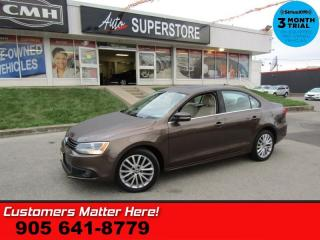 Used 2012 Volkswagen Jetta 2.0 TDI Highline  DIESEL LEATHER ROOF BUTTON START HS 17 ALLOYS for sale in St. Catharines, ON