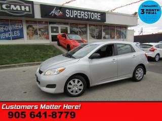 Used 2013 Toyota Matrix Base  HATCHBACK AUTOMATIC POWER GROUP for sale in St. Catharines, ON