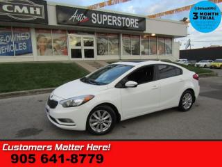Used 2014 Kia Forte LX+  AUTOMATIC SUNROOF POWER GROUP for sale in St. Catharines, ON