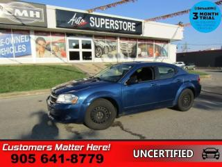 Used 2009 Dodge Avenger SXT  AS IS (UNCERTIFIED) AS TRADED IN for sale in St. Catharines, ON