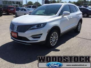 Used 2015 Lincoln MKC Base  102A, MKC, NAVIGATION for sale in Woodstock, ON
