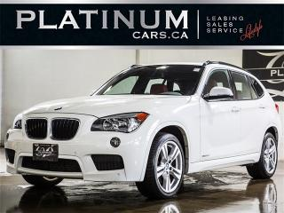 Used 2015 BMW X1 xDrive 35i, M-SPORT, PANO, PREMIUM, Leather for sale in Toronto, ON