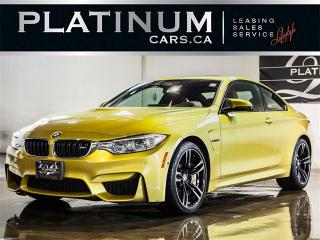 Used 2016 BMW M4 6-SPEED MANUAL, NAVI, Exec PKG, Premium for sale in Toronto, ON