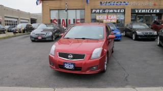 Used 2010 Nissan Sentra SE-R/B UP CAMERA/NAVI/SUNROOF for sale in North York, ON