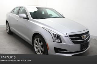 Used 2015 Cadillac ATS Turbo Luxury Nav for sale in Terrebonne, QC