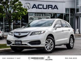 Used 2016 Acura RDX Tech at - CERTIFIED PRE OWNED for sale in Markham, ON