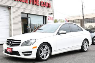 Used 2014 Mercedes-Benz C-Class Navigation, Sunroof, Clean for sale in Toronto, ON