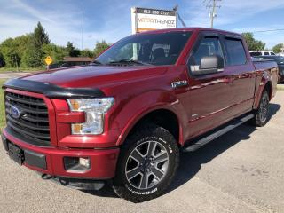Used 2016 Ford F-150 Crew XLT Sport Ecoboost! Nice with Buckets, BackupCam, Pwr Seat and Bluetooth! for sale in Kemptville, ON
