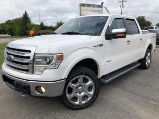 Used 2013 Ford F-150 Lariat Ecoboost! Absolutely Loaded! Leather, NAV, and More! for sale in Kemptville, ON
