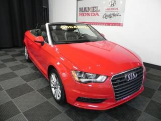 Used 2016 Audi A3 Komfort Convertible WOW SUPERBE CONDITION !! for sale in St-Eustache, QC