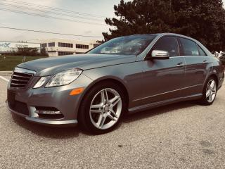 Used 2013 Mercedes-Benz E350 350 4MATIC Premuim Sport for sale in Mississauga, ON