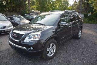 Used 2007 GMC Acadia FWD 4dr SLT, leather for sale in Halton Hills, ON