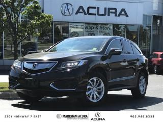 Used 2017 Acura RDX Tech at - Navigation | Power Liftgate for sale in Markham, ON