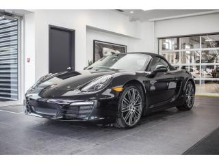Used 2016 Porsche Boxster Black Edition Turbo for sale in Laval, QC