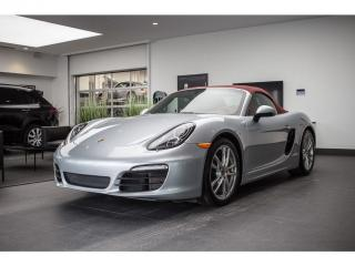 Used 2015 Porsche Boxster S Cert for sale in Laval, QC