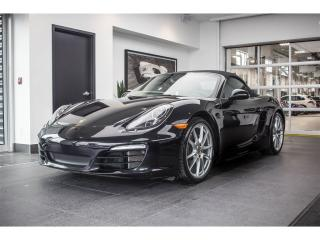 Used 2016 Porsche Boxster Black Edition PDK for sale in Laval, QC