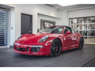 Used 2016 Porsche 911 Targa 4 GTS PDK for sale in Laval, QC