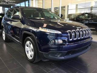 Used 2016 Jeep Cherokee SPORT, LOW KM, UCONNECT for sale in Edmonton, AB