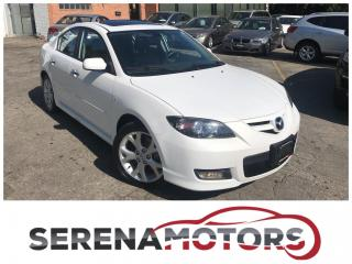 Used 2008 Mazda MAZDA3 GT | LEATHER | SUNROOF | HEATED SEATS | BOSE for sale in Mississauga, ON