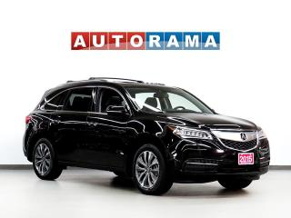 Used 2015 Acura MDX TECH PKG NAVI BACKUP CAM LEATHER SUNROOF 7PASS 4WD for sale in Toronto, ON