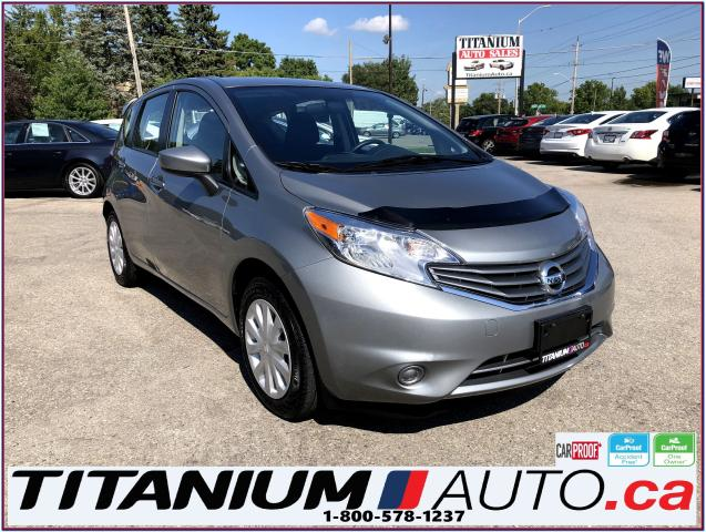 2015 Nissan Versa Note SV-Camera-Cruise & Traction Control-Remote Start-