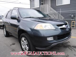 Used 2005 Acura MDX Touring 4D Utility 4WD for sale in Calgary, AB