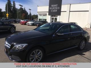 Used 2015 Mercedes-Benz C 300 4Matic | NAVIGATION | DUAL ROOF | BLIND for sale in Kitchener, ON