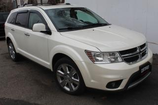 Used 2012 Dodge Journey R/T AWD 7 passengers Sunroof Parking senser Leather seats for sale in Mississauga, ON