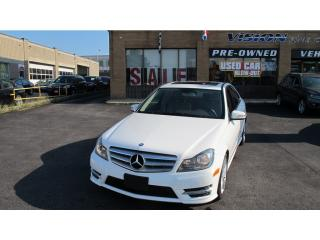 Used 2013 Mercedes-Benz C-Class C 300 4MATIC/NAVI/SUNROOF/LEATHER for sale in North York, ON