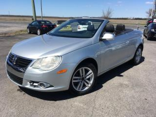Used 2008 Volkswagen Eos Cuir Convertible for sale in Carignan, QC