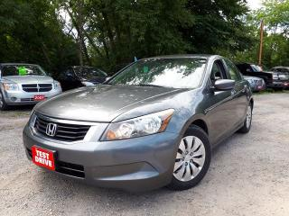 Used 2010 Honda Accord LX,certified for sale in Oshawa, ON