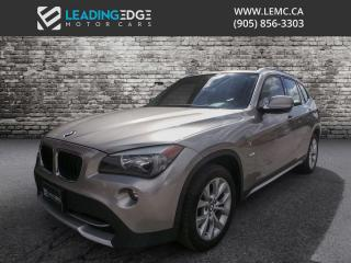 Used 2012 BMW X1 xDrive28i Premium, Navigation, Panoramic Sunroof for sale in Woodbridge, ON