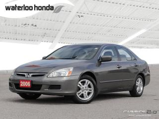 Used 2006 Honda Accord SE Under 100,000 km! for sale in Waterloo, ON