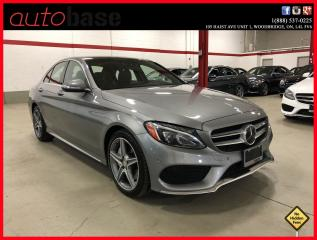 Used 2015 Mercedes-Benz C-Class C400 4MATIC HUD INTELLIGENT DRIVE PREMIUM for sale in Vaughan, ON
