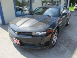 Used 2014 Chevrolet Camaro LOADED 2-LT MODEL 4 PASSENGER 3.6L - V6.. LEATHER.. HEATED SEATS.. BOSTON AUDIO.. POWER SUNROOF.. BLUETOOTH.. BACK-UP CAMERA.. for sale in Bradford, ON