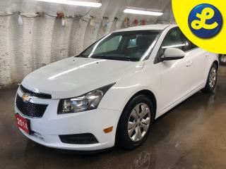 Used 2014 Chevrolet Cruze LT * On star * Hands free steering wheel controls * Phone connect * Voice recognition * Keyless entry * Climate control * Cruise control * Traction co for sale in Cambridge, ON