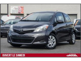 Used 2014 Toyota Yaris CE for sale in St-léonard, QC