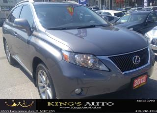 Used 2012 Lexus RX 350 LOADED for sale in Scarborough, ON