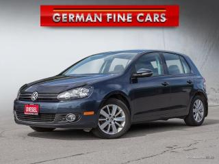 Used 2012 Volkswagen Golf TDI 2.0L COMFORTLINE**ONLY 52,000 KM** for sale in Bolton, ON